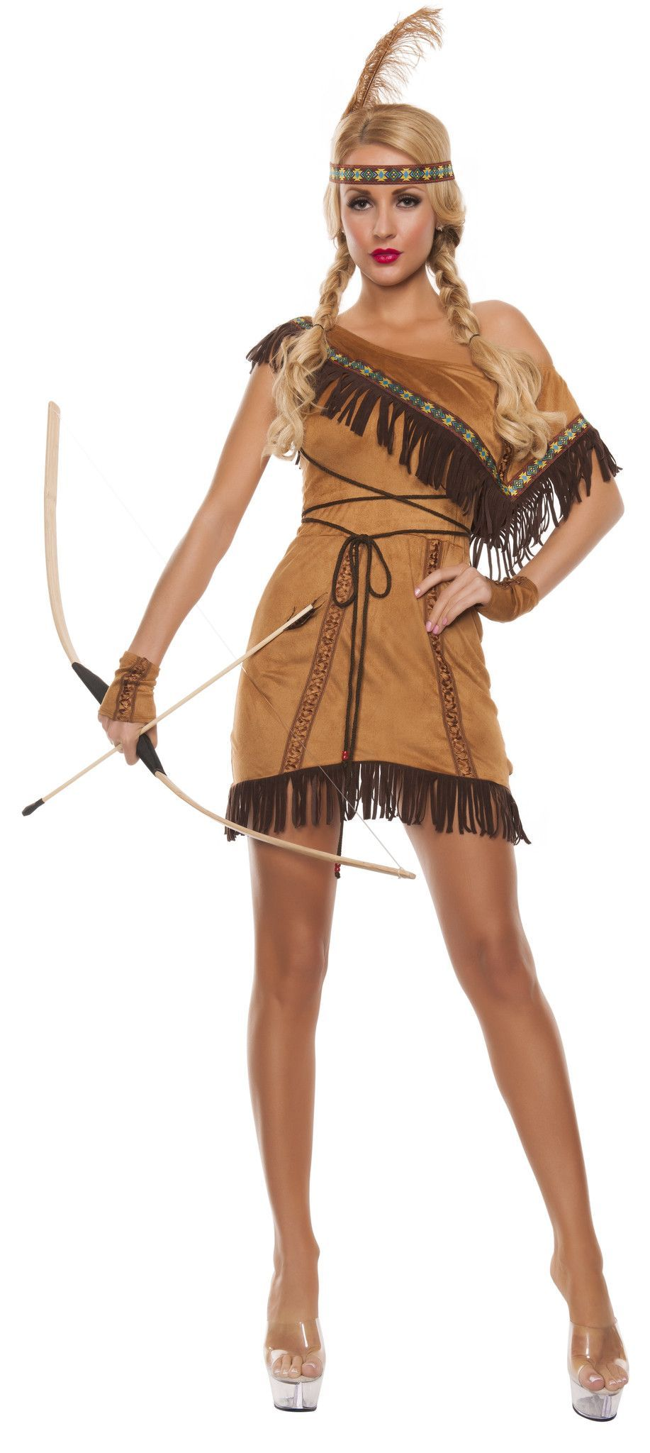 Sexy Indian Princess Costume - Native Dream Catcher Disney -9487