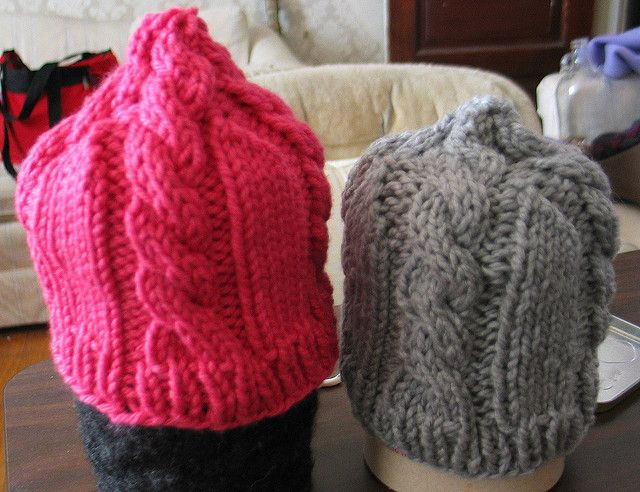 Baby Cables Hat My Free Patterns Pinterest Cable Magic Loop