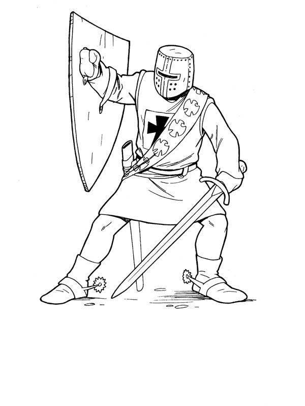 Knights Coloring Pages 7 Castle Coloring Page Coloring Pages
