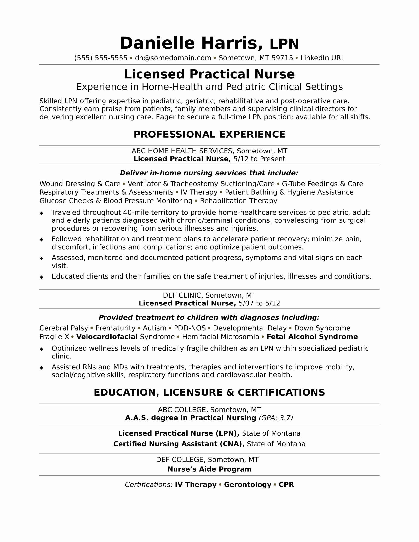 25 Nursing Student Resume Template in 2020 New grad