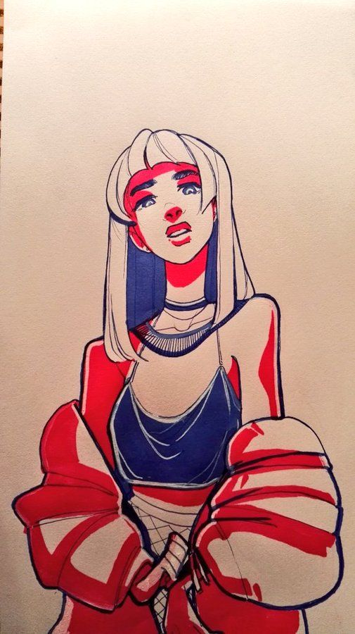 New Hair Women Illustration Drawings Ideas