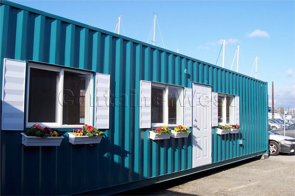 Cargo Box House shipping container homes - the real benefits | dr. who, design and