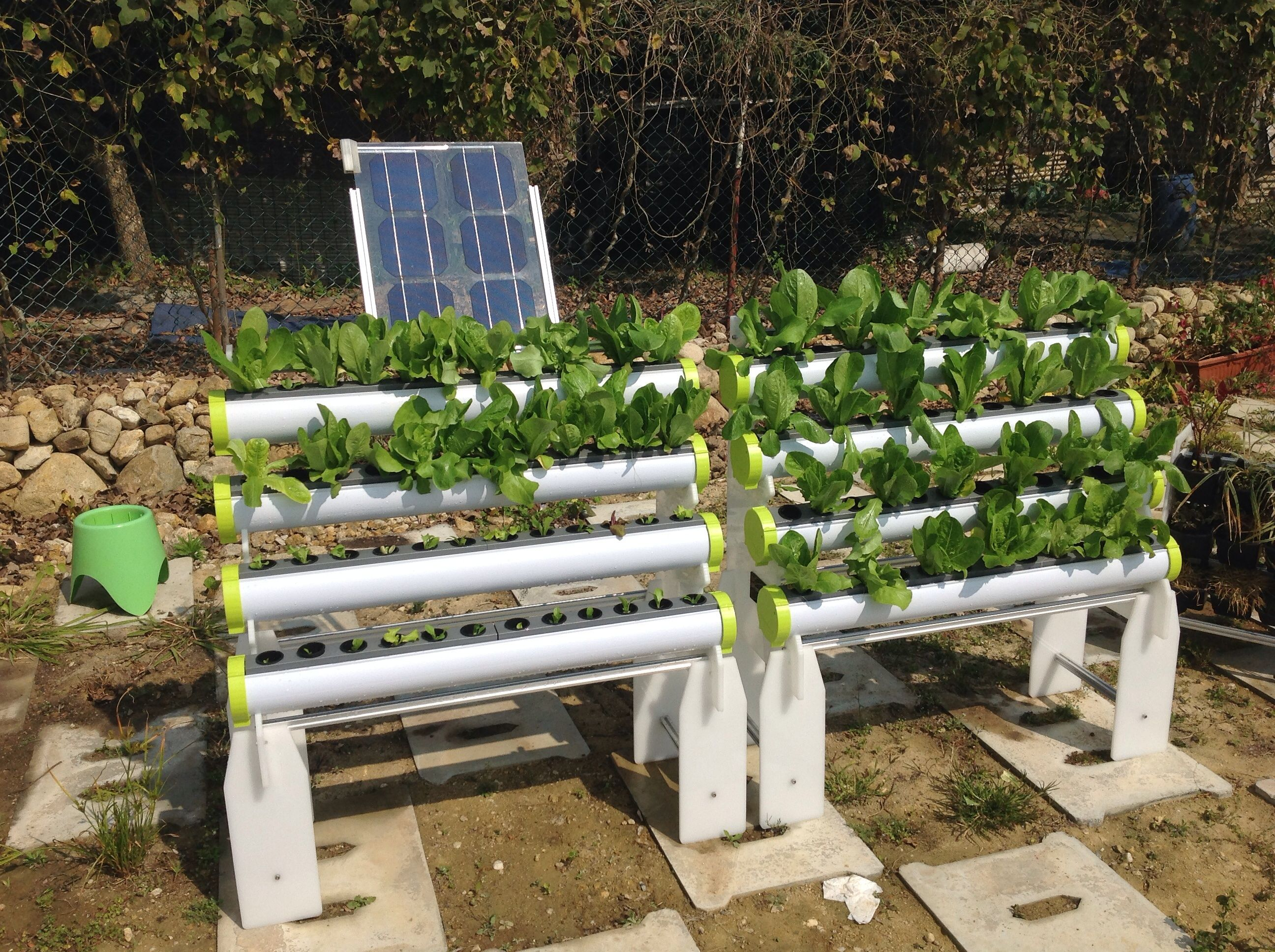 An integrated hydroponics system inclusive of mobile rack for Hydroponic air pump