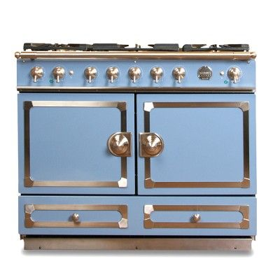 I Love The La Cornue Cornuf Stove Provence Blue On With Moderne Decoratie Het Fornuis