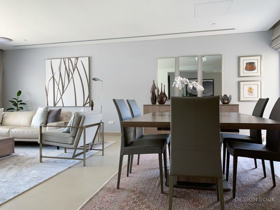 A Contemporary Living Dining Room Update The Design Souk Dining Room Updates Living Dining Room Contemporary Living