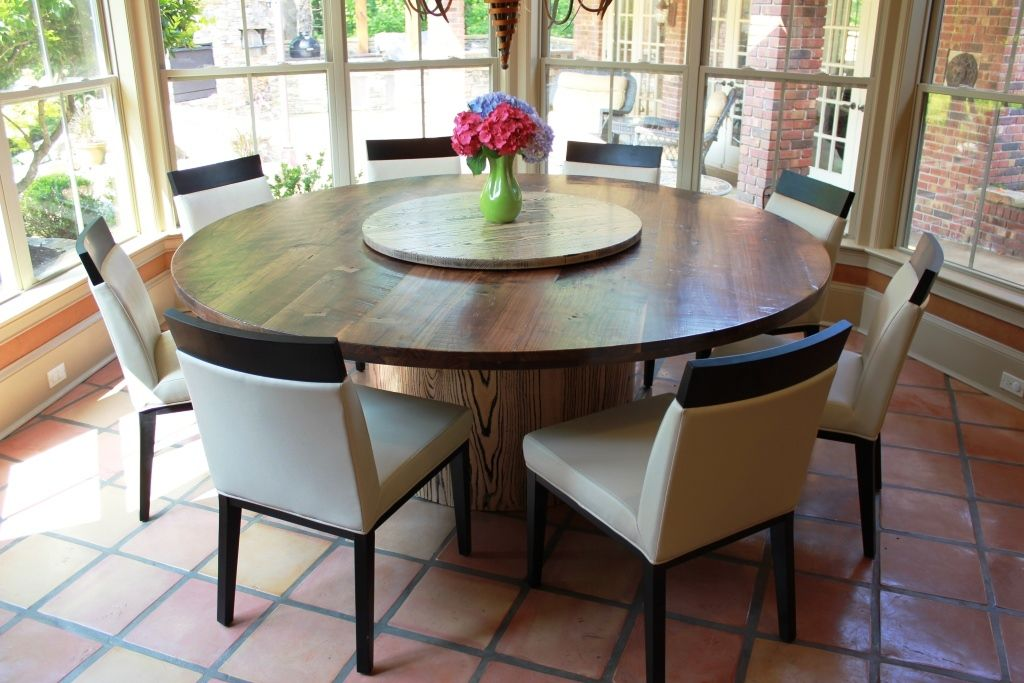 7 Round Dining Table Stephen Evans Rustic Round Dining Table
