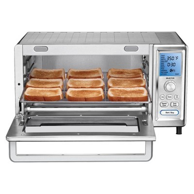 Cuisinart Chef S Convection Toaster Oven Stainless Steel Silver Tob 260n Convection Toaster Oven Cuisinart Toaster Oven Toaster Oven Recipes