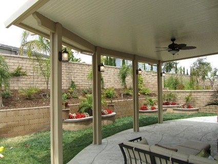 Explore Walkway Ideas, Patio Ideas, And More! Solid Patio Cover