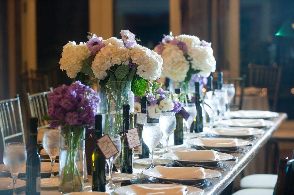 Romantic winery wedding outdoor wedding venues ivory purple romantic winery wedding outdoor wedding venues ivory purple centerpieces junglespirit Gallery