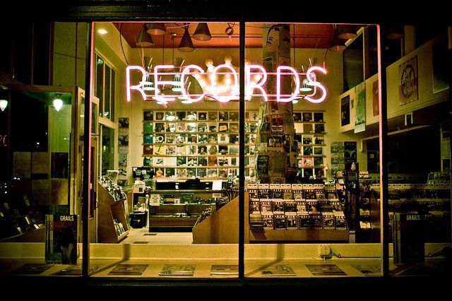jackpot records portland oregon record shops signage vinyl record store vinyl store. Black Bedroom Furniture Sets. Home Design Ideas