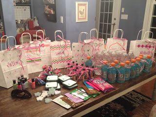 Ideas For Bachelorette Party Goo Bags