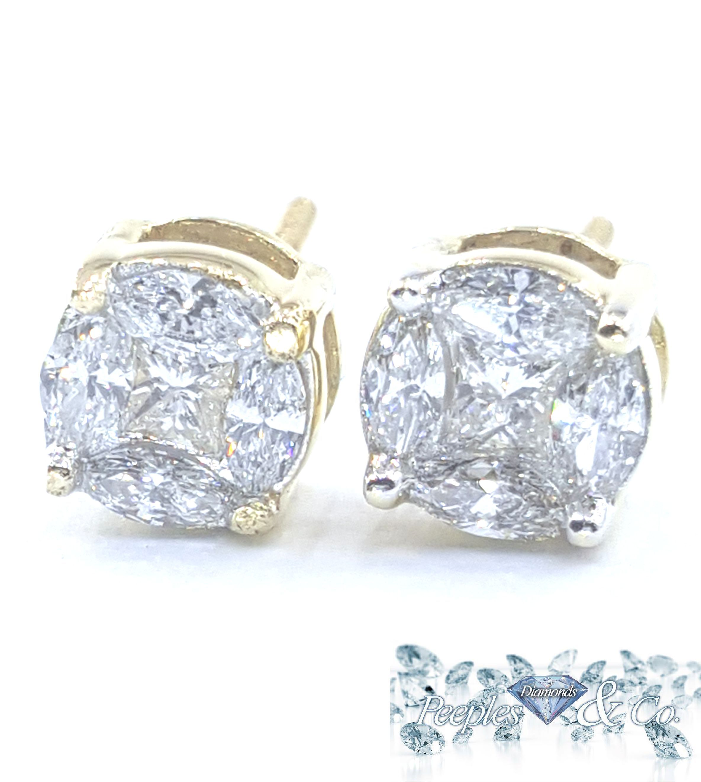 free princess white today carat shipping stud earrings marquise product jewelry watches gold yellow overstock diamond and