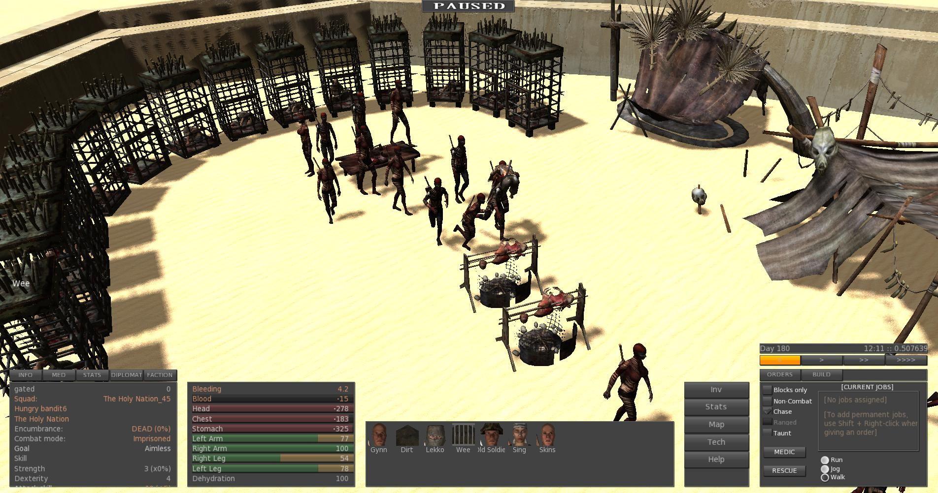 Kenshi | Viking - UI and Mechanics | Desktop, Desktop screenshot