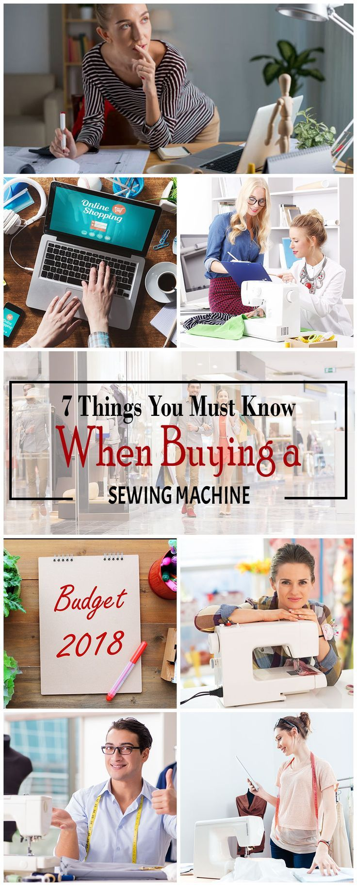 7 Things You Must Know When Buying a Sewing Machine ...