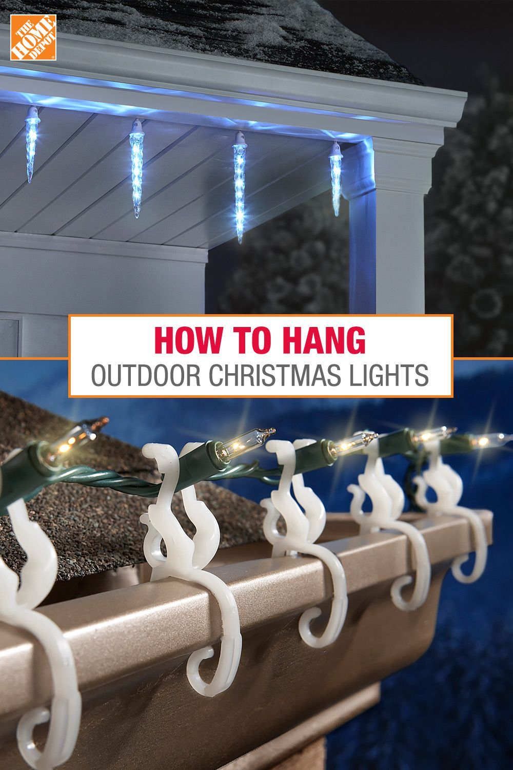 How To Hang Outdoor Christmas Lights Outdoor Christmas Lights Christmas House Lights Christmas Light Clips