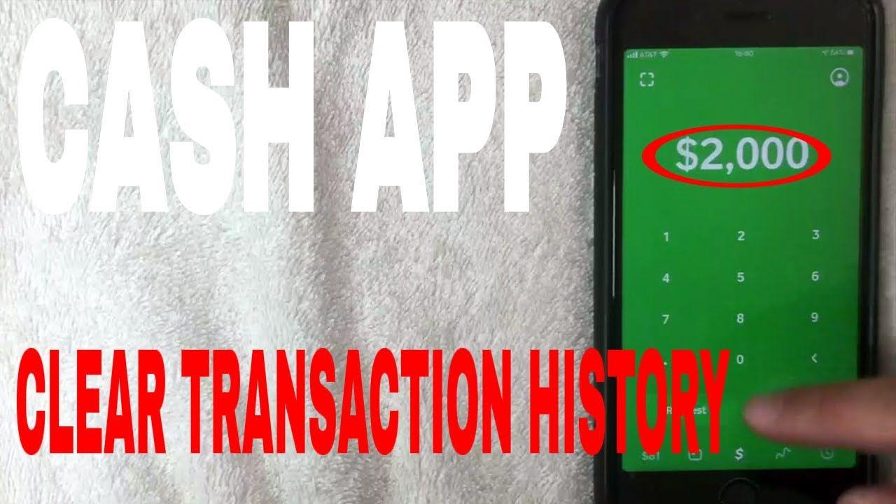 Delete Cash App History By Cash App Support Online App Support App Paying Bills
