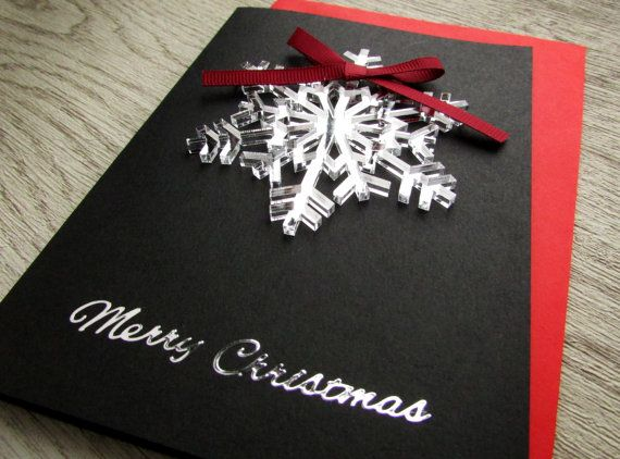 Christmas Card Greetings - Unique Christmas Cards - Merry Christmas