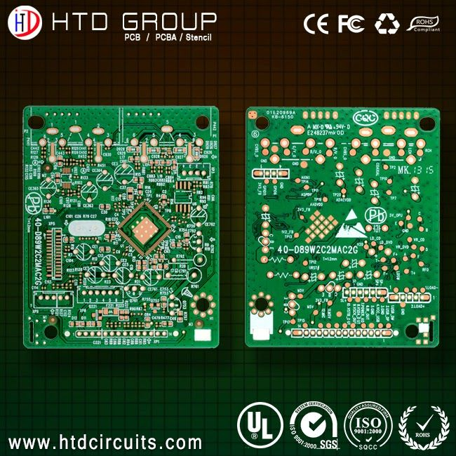 HTD circuits: The secret of the printed circuit boards trace