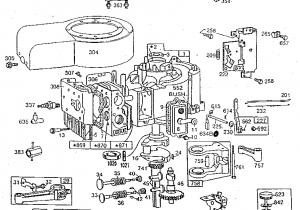 Briggs Stratton Engine Parts Diagram Briggs Stratton 11 Hp