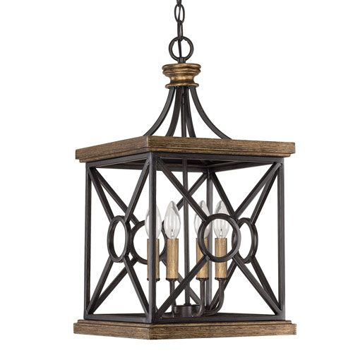Capital lighting fixture company landon surrey four light foyer pendant
