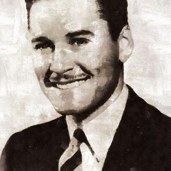 Errol Flynn by Mary Bassett