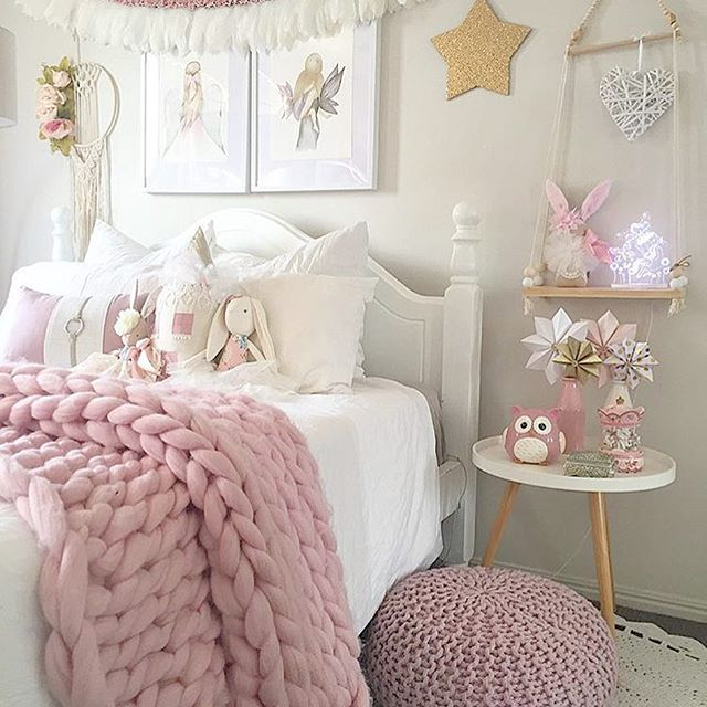 32 Dreamy Bedroom Designs For Your Little Princess: Girly Bedrooms