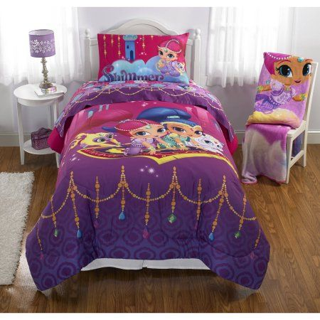 Nickelodeons Shimmer And Shine Magic Wonders Reversible Twinfull