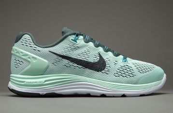 Nike Womens Lunarglide+5 - Womens Running Shoes - Arctic  Green-Black-Vintage Green-Tropical | SHOES | Pinterest | Nike, Scarpe da  corsa e Corsa femminile