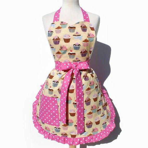 Cute cupcake apron