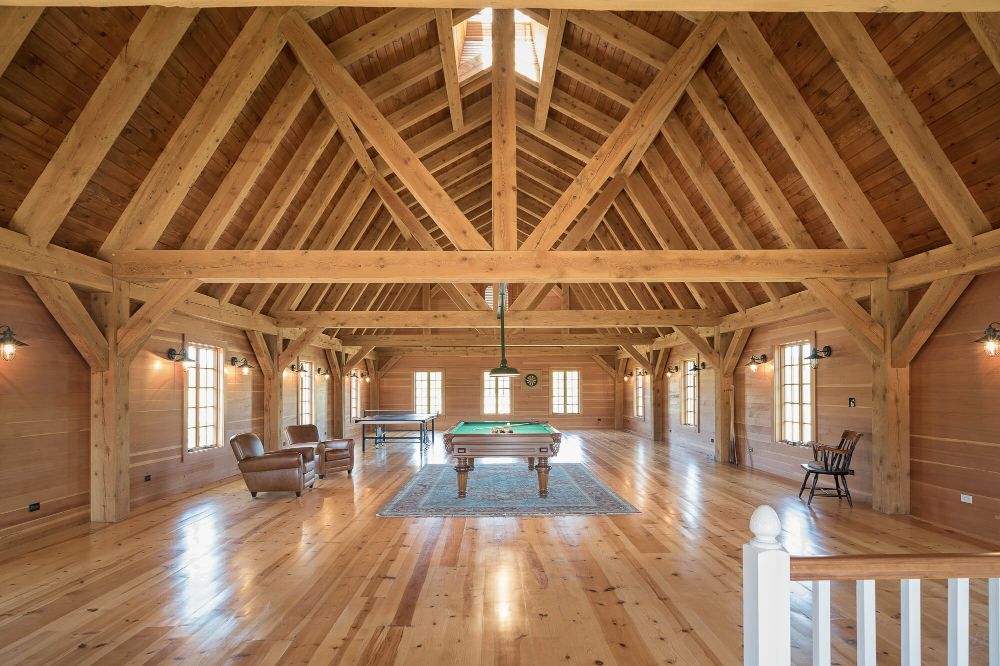 Glulam Vs Solid Sawn Beams Which Is Better For Your Project Barn Frame Barn Renovation Gambrel Barn