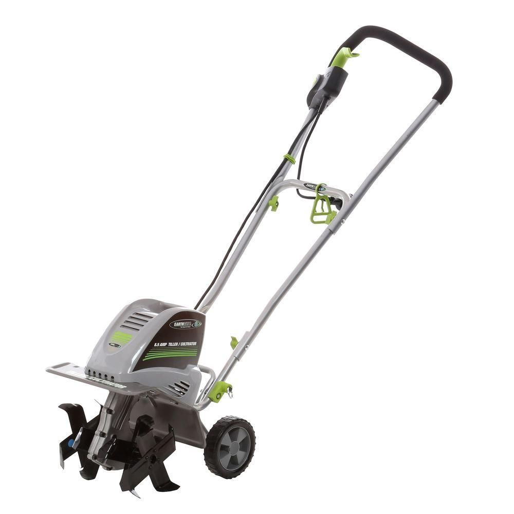 Earthwise 11 In 8 5 Amp Electric Tiller And Cultivator Tc70001