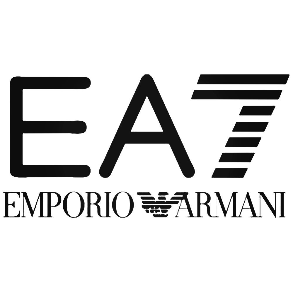 62de6f429c Ea7 Emporio Armani Logo Decal Sticker in 2019 | AX EA | Armani logo ...
