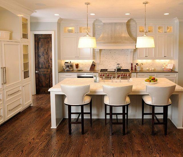 "Kitchen Interior Paint Design: Sherwin Williams Paint Color. ""Sherwin Williams SW7636 Origami White"". #SherwinWilliams #SW7636"