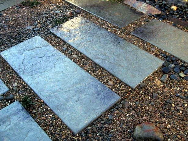 Diy Concrete Pavers Love This Simple And Green Idea For Getting Out To The Studio Shed
