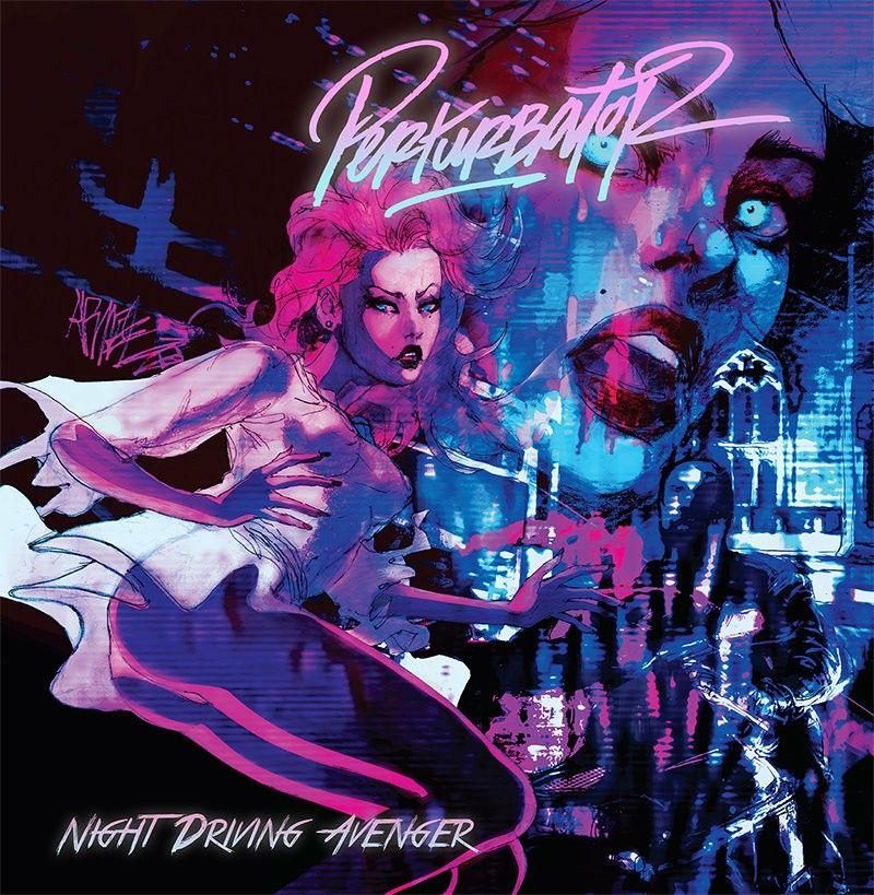 Album Cover Perturbator Night Driving Avenger Bande