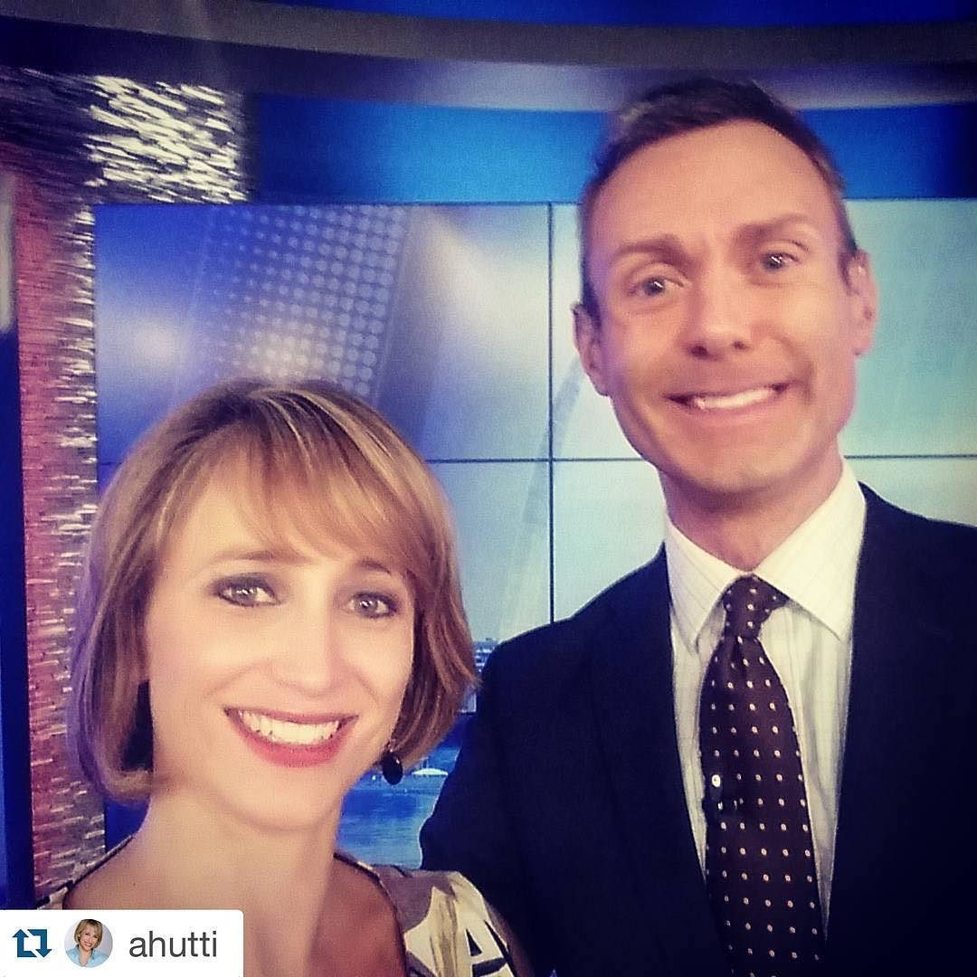 #Repost @ahutti  A fond farewell today to my midday anchor and #NPR listening friend Elliot Weiler. He's headed off to @consumerreports in New York. Our last show together was today. Going to miss him and his CWE restaurant suggestions. #goodluck @fox2now