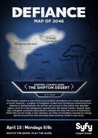 DefianceWorld: The Shipton Desert   Map from 2046 Indogene crystal