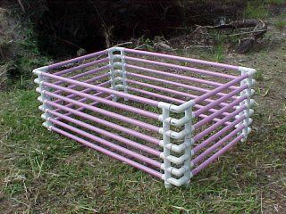 How To Make Your Own Puppy Pen With Pvc Pipes Diy Dog Stuff