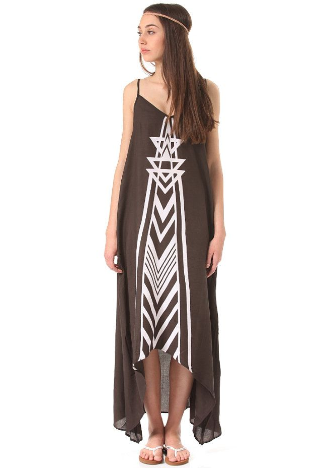 #planetsports BILLABONG - Womens Golden Splash Dress off black