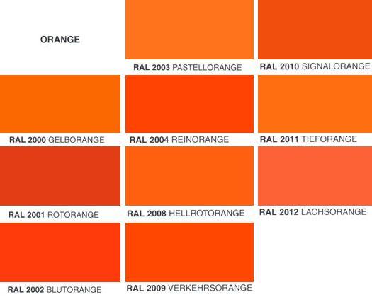 Orange Orange Colours Color