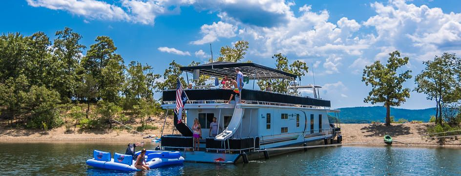 Bon Homepage | Wake Zone Luxury Houseboat Rentals: Lake Ouachita, Royal,  Arkansas
