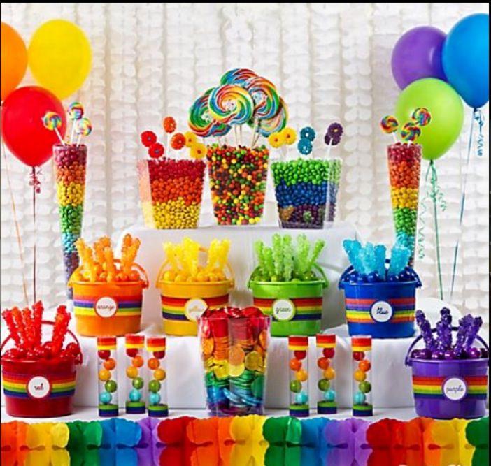 Termatica arco iris Table of Sweets Pinterest Iris Ideas