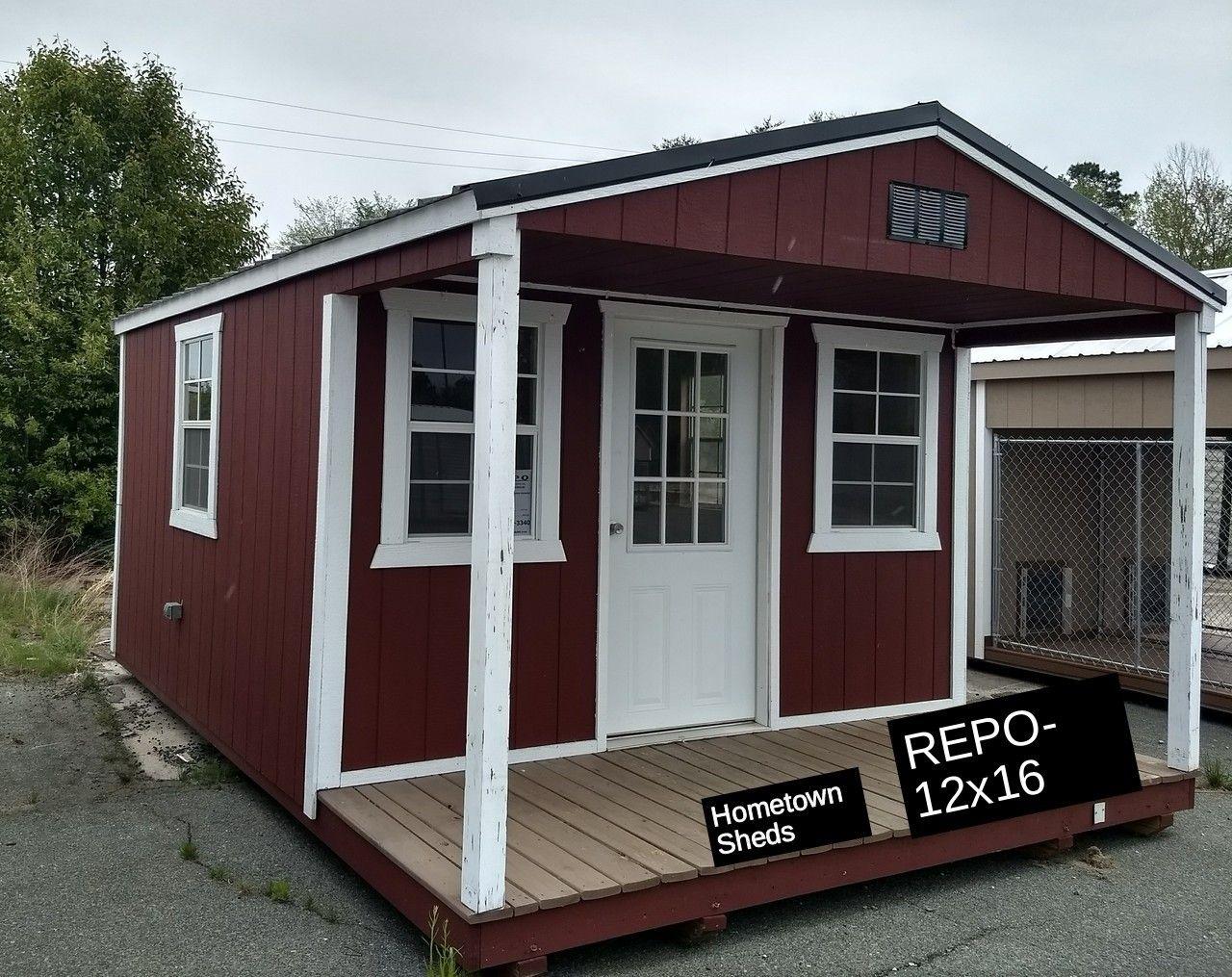 REPOREPOREPOREPOREPOREPO! 12 x 16 Porch Model 4
