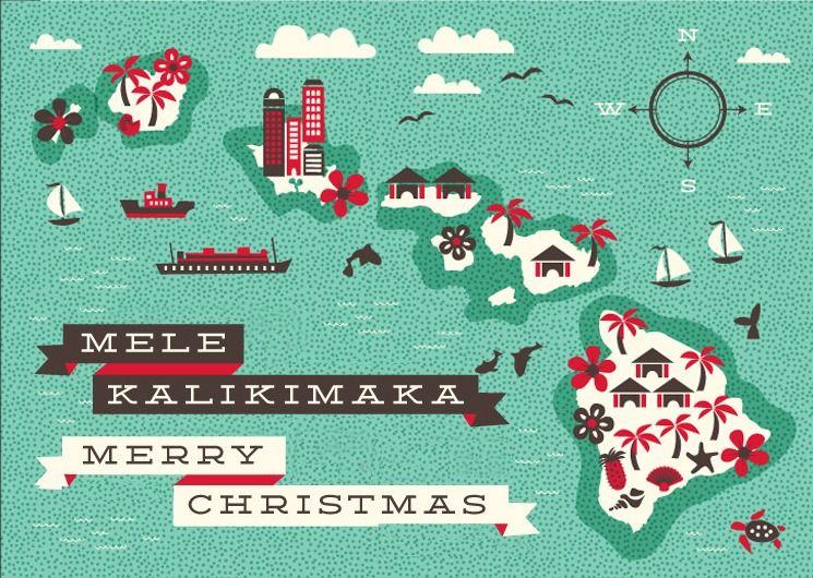 Mele Kalikimaka Christmas Cards.Mele Kalikimaka Holiday Tropical Christmas Christmas