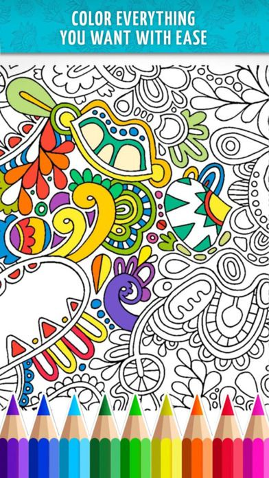Itunesapple Us App Adult Coloring Book Free For