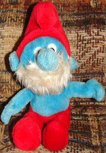 I had this Papa Smurf plushie =)