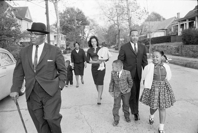 Coretta Scott King, the wife of Dr. Martin Luther King, Jr., was a figure who was every bit as strong, every bit as committed, every bit as courageous — and every bit as ready to forge America's awakening on race and social justice.