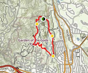 Garden Of The Gods Loop Trail Trail Colorado Hiking Utah
