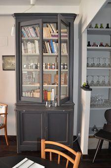 Bufffet gris Brocante de LA BRUYERE   Brocante de La Bruyère ...