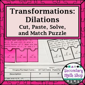 Dilation Worksheets | Student, The o'jays and Products